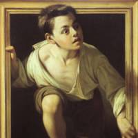 'Escaping Criticism,' 1874, by Pere Borrell del Caso | COLECCION BANCO DE ESPANA, MADRID