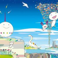 Dream team: The mid-decade upturn in the economy gave artist Takashi Murakami the chance to engage in several corporate collaborations, incuding one with Mori Building Co., Ltd., for whom he made 'Planet 66'  and other artworks to commmemorate the opening of their Roppongi Hills project. | © 2003 TAKASHI MURAKAMI/KAIKAI KIKI CO., LTD. ALL RIGHTS RESERVED
