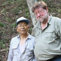 Right-hand man: Myself with Mr. Nobuyoshi Matsuki, the trust's Senior Forester, without whom I doubt we could have done what we have. | ANDREW KERSHAW PHOTO