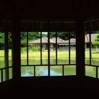 View point: The graceful Udun Palace (above) seen from inside the Rokkaku-do pavilion, which is approached via a Ryukyu limestone bridge. | STEPHEN MANSFIELD PHOTOS