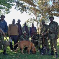 The reserve's tracker-dog unit started by Takita. | PHOTO COURTESY OF MARA CONSERVANCY