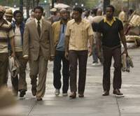 Denzel Washington leads his posse in 'American Gangster.'  © 2007 UNIVERSAL STUDIOS. ALL RIGHTS RESERVED