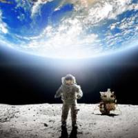 Out of this world: Man's visits to the lunar surface are the focus of 'In the Shadow of the Moon.' © DOX PRODUCTIONS LIMITED 2007