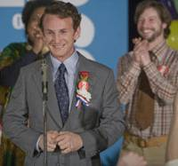 Double winner: Actor Sean Penn plays the title role in 'Milk,' a biopic about the first openly gay politician to enter office in California. | © 2008 FOCUS FEATURES LLC. ALL RIGHTS RESERVED