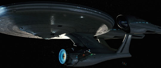 The future begins here for Pine in 'Star Trek'