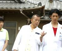 Thrilling threesome: Kimiko Yo, Tsurube Shofukutei and Eita in 'Dear Doctor' | © 2009 'DEAR DOCTOR' SEISAKU INKAI