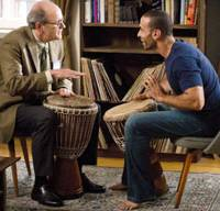 Meeting of minds: Richard Jenkins and Haaz Sleiman in 'The Visitor'   © 2007 VISITOR HOLDINGS, LLC. ALL RIGHTS RESERVED