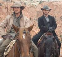 Classic cowboys: Christian Bale and Russell Crowe in '3:10 to Yuma' | © 2007 YUMA, INC. ALL RIGHTS RESERVED