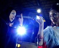 Bedevilled beauty: Yukie Kawamura (left) and Elly Otoguro go to war over a boy in 'Vampire Girl vs. Frankenstein Girl.' | © PONY CANYON / CONCEPT FILMS