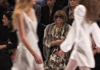 Keeping her distance: Anna Wintour in 'The September Issue'   © 2009 A&E TELEVISION NETWORKS & ACTUAL REALITY PICTURES, INC. ALL RIGHTS RESERVED