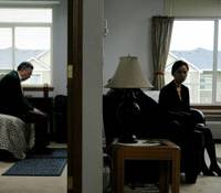 Continents apart: Henry O and Faye Yu take their time in 'A Thousand Years of Good Prayers.' | © 2007 GOOD PRAYERS, LLC. ALL RIGHTS RESERVED