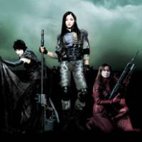 Faster! Kill! Kill!: Rinko Kikuchi, Meisa Kuroki and Hinako Saeki line up for battle in 'Assault Girls.' | © HACHIJU HACHIMIRI DAIZU / GENEON UNIVERSAL ENTERTAINMENT