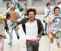 On the run: Keisuke Koide takes the lead as Takumi, the son of a former cop in 'Surely Someday.'   © 2010 'SURELY SOMEDAY' SEISAKU IINKAI