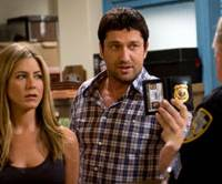 Best friends: Jennifer Aniston and Gerard Butler star in 'The Bounty Hunter.'