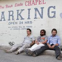 Under the influence: Actors (left to right) Ed Helms, Zach Galifianakis and Bradley Cooper in a scene from 'The Hangover'   © 2008 WARNER BROS. ENTERTAINMENT INC.