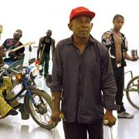 The band Staff Benda Bilili: 'They are writing about their life on the street and the situation of Congolese people.'