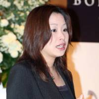 Making lists: Sommelier Kayoko Funato judged the Bordeaux.