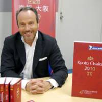 Now Kansai: Jean-Luc Naret of the Michelin Guide discusses the release of a new edition for Kyoto and Osaka. MELINDA JOE PHOTO