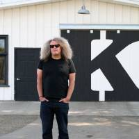 Name that wine: Charles Smith of K Vintners says the unusual names he gives his wines, such as 'Kung Fu Girl' (below) get consumers' attention. | K VINTNERS & CHARLES SMITH WINES