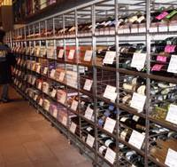 Spoiled for choice: Wine Market Party in Ebisu, Tokyo, has a wide selection of wines and is open until 9 p.m. If you can't make it before closing, though, it also has an online store offering more than 1,000 wines. | FELICITY HUGHES