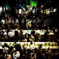 Grand event: A view of The Joy of Sake New York. The Joy of Sake, the largest sake-tasting event outside of Japan, is taking place this year in Honolulu, San Francisco and New York before coming to Tokyo in November.