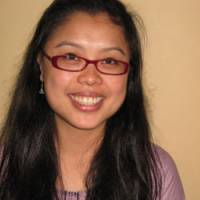 Giving back: High-flying U.S. graduate Amy Lam, who gave up a media career to teach at AUW.   JEFF KINGSTON PHOTO