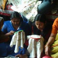 Embroidery center gives women fabric for a future