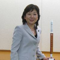 Seiko Noda, state minister in charge of technology policy, food safety, consumer affairs and space policy | JUDITH KAWAGUCHI PHOTO