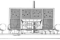 Future visions: An initial plan for the National Center for Media Arts (above). This 'Power of Expression, Japan' exhibition at the National Art Center in Tokyo in 2007 (below) suggests how the new facility may look inside. | AGENCY FOR CULTURAL AFFAIRS