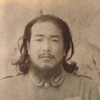 Lives apart: Hiromichi Nagatomi in the guise of a Chinese (above), while serving in the Japanese military's Special Services Section in China in the 1930s, and in a Tokyo nursing home before his death in 2002. | SINITIROU KUMAGAI