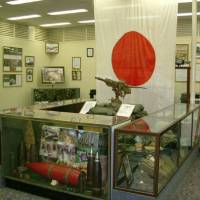 War's relics: As well as retrieving the remains of hundreds of Imperial Japanese Army soldiers from Okinawa's caves and tunnels, the Tunnel Rats' efforts have yielded a wide range of exhibits now on display at the museum on Camp Kinser. | CHRIS MAJEWSKI