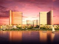 High stakes: Depending on the success of their Manila Bay Resort (seen here in an artist's impression), Universal Entertainment may open other casinos in Asia — including at home in Japan if legal changes are made allowing it to do so. | UNIVERSAL ENTERTAINMENT