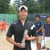 Go Yamazaki (above) triumphed in the men's single's competition, while Miyuki Hatsukawa (below, left) and Sanae Ota — whose grandfather and father are both former title-holders at Karuizawa — contended for the women's doubles championship.   EDAN CORKILL PHOTOS