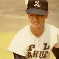 Top class: Kuwata playing for his PL-Gakuen high school in Osaka, when the media first began to hound the prodigy. | COURTESY OF MASUMI KUWATA