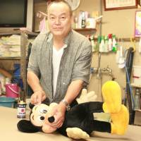 Stuffed-toy savior shares secrets of his plush lifestyle