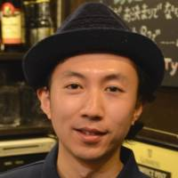 Yasuyoshi Wada, Bartender, 31 (Japanese): If I had a chance, I'd like to meet the ex-Blue Hearts singer Hiroto Komoto, who covered issues such as many people entering companies all wearing the same suit, all wanting to join big firms and wanting to buy the same-style house. I like him because he 'sang out' about these things.