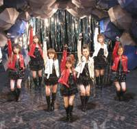 Hail Musume!: The J-Popsters strut their stuff.