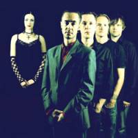 One-time gig: The current incarnation of The Wonder Stuff (from left): Erica Nockalls, Mark McCarthy, Miles Hunt, Malcolm Treece and Andres Karu, are playing at Tokyo's Liquid Room on Sept. 10.