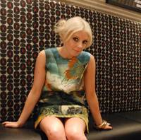 New in town: Japanese fans have embraced the music of Victoria Hesketh, better known as Little Boots. | DANIEL ROBSON PHOTO