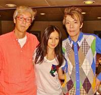 For a good cause: Masahide Sakuma, Vivian Hsu and Masami Tsuchiya gather in Tokyo to record a CD to help their friend and former band mate, Mick Karn, who has recently been diagnosed with cancer.