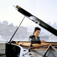 This one's for the children: Pianist Lang Lang will play a free concert as part of a UNICEF campaign in Tokyo on Monday.   FELIX BROEDE/DG