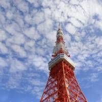 Game on: New Zealand's tourist bureau is set to host various activities inside a giant inflatable rugby ball at the base of Tokyo Tower.