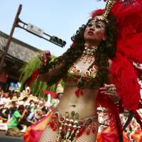 Summer samba carnival brings the heat to Asakusa's streets