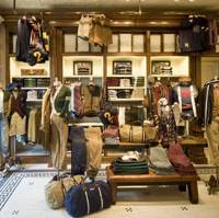 Ivy-League look: Ralph Lauren's first Rubgy store outside of the United States brings to Japan preppy-style rugby shirts, chinos, herringbone jackets and accessories.