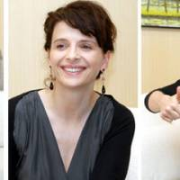 Risk taker: Juliette Binoche is in Tokyo next week performing in a dance production she has created with English dancer Akram Khan. | YOSHIAKI MIURA PHOTO