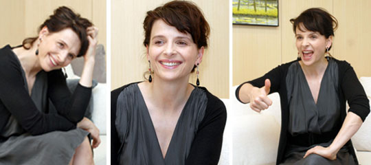 Juliette Binoche takes to the stage — this time to dance