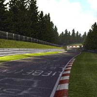 The Nurburgring race track in Germany (below) and the virtual one found in 'Gran Turismo'