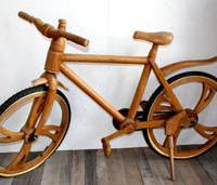 Wood-design shop Nareu's ultimate eco-ride.