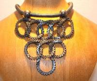 A high-gear Elena Cancer necklace at Monad