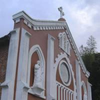 Divine intervention: Christianity came early to Hirado and is today evident in such structures as Hoki's 1898 Catholic church (above). To the area's persecuted 17th-century 'hidden Christians' this Buddhist statue represented the Virgin and Child. | CHRIS BAMFORTH PHOTOS
